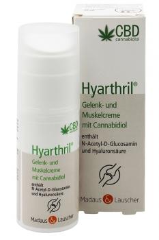 Hyarthril® Gelenk und Muskelcreme mit Cannabidiol